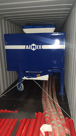 Loading Concrete Pump Mixer