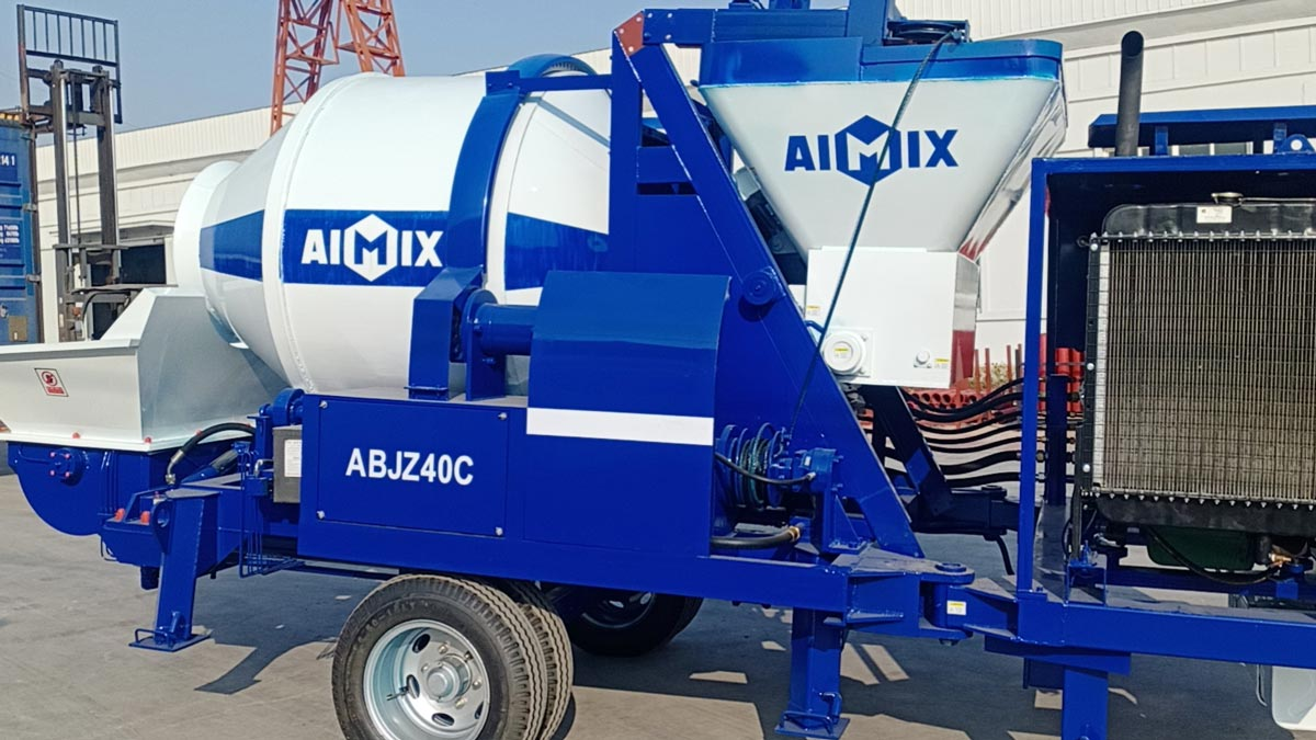 Exporting ABJZ40C Diesel Mixer Pump to Indonesia