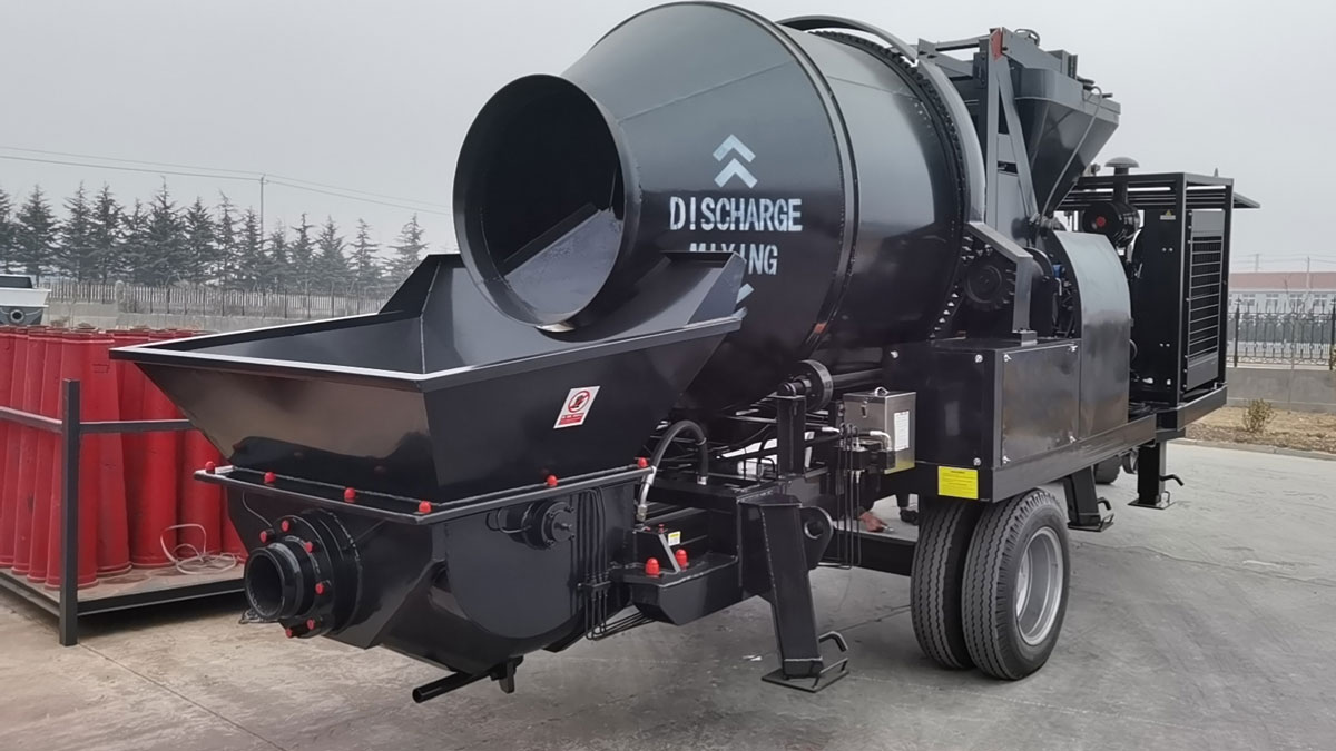 ABJZ40C Concrete Mix Pump