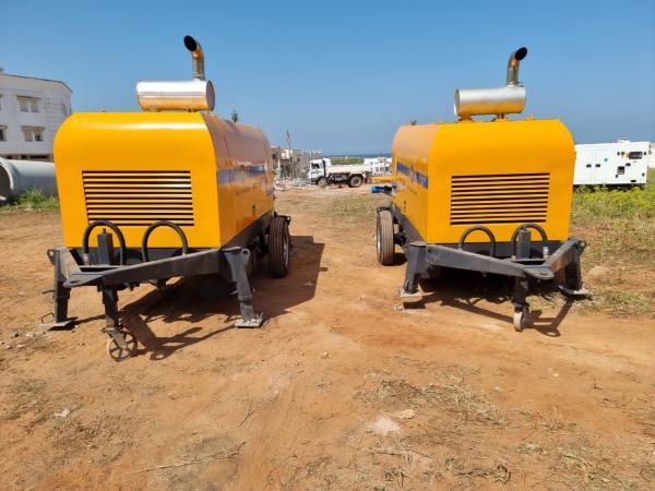 ABT40C Concrete Pumps in Morocco