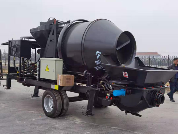 AIMIX ABJZ40C Concrete Mixer Pump Was Exported to Belize