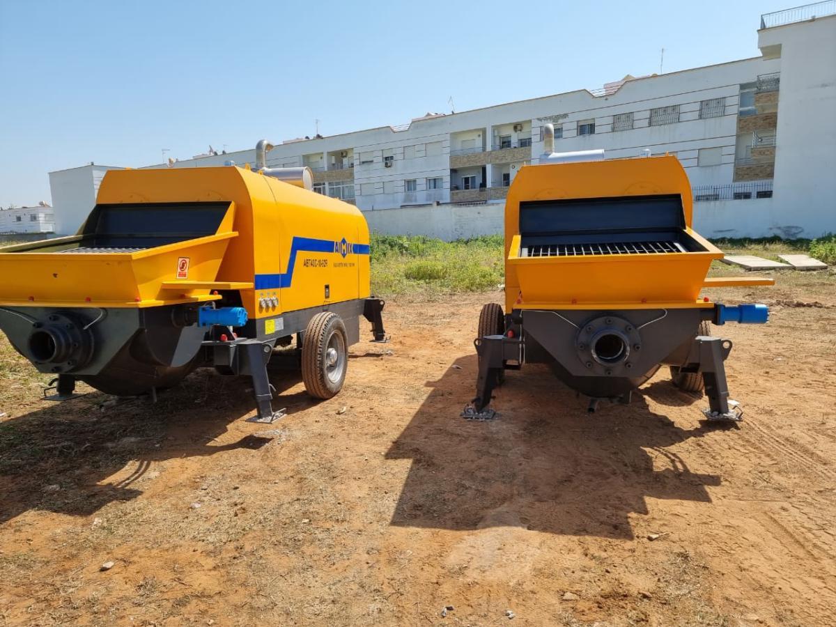 AIMIX ABT40C Diesel Concrete Pumps in Morocco