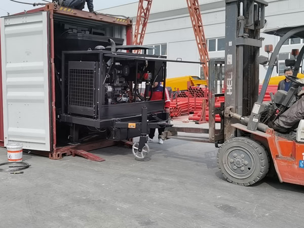Loading Mixer Pump Machine