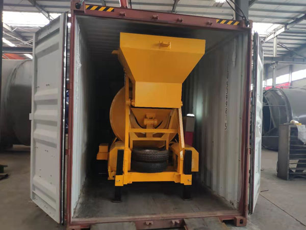 Transporting JZM500 Concrete Mixer