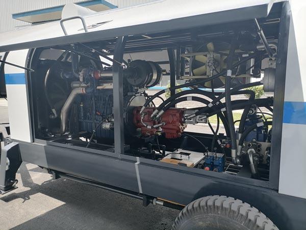 ABT90C Diesel Concrete Pump Components