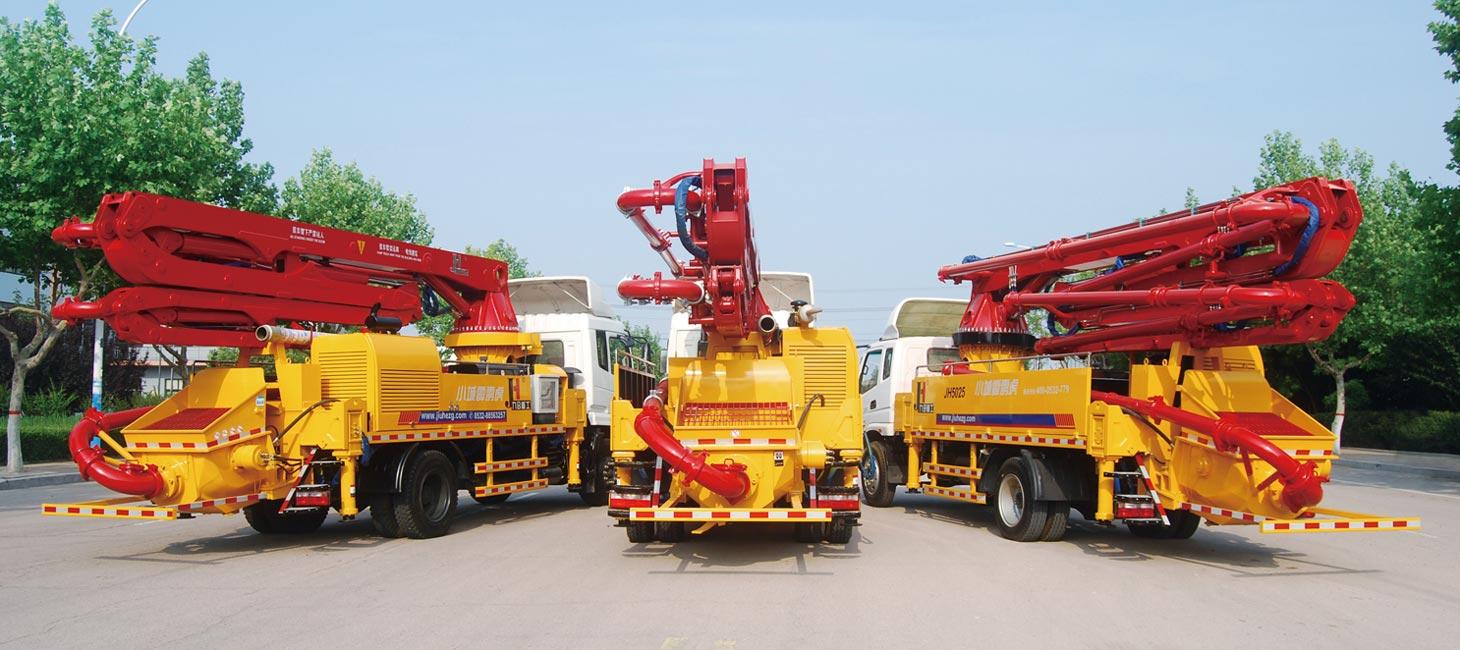 25m Concrete Pump Truck for Sale