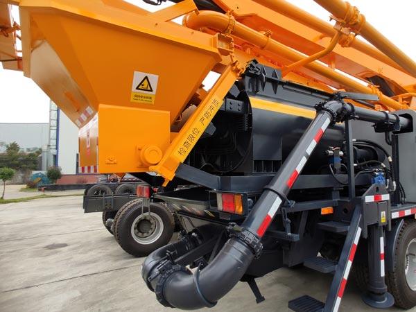 34m Concrete Pump Truck