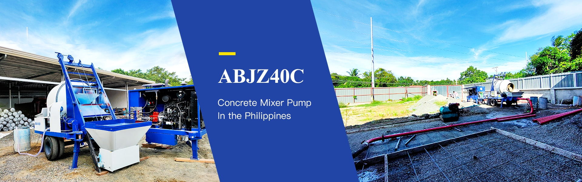 ABJZ40C Concrete Mixer Pump Philippines