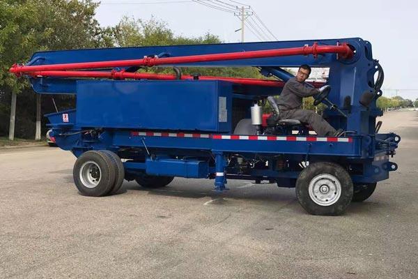 AIMIX 14m Mini Concrete Pump Truck
