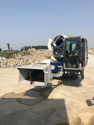 Debugging Mixer Beton Pemuatan Sendiri