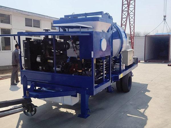 ABJZ40C Mini Concrete Mixer and Pump