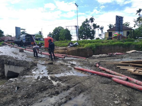AIMIX ABT30C Diesel Concrete Pump in Indonesia