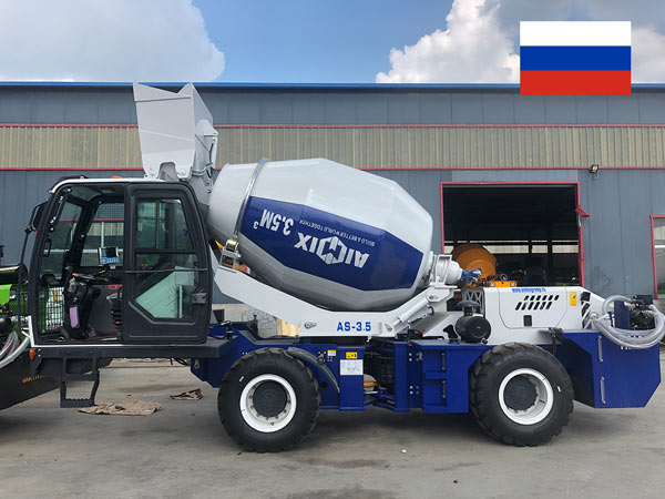 Exporting Self Loading Mixers To Russia