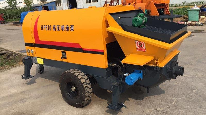 HPS10 Cement Mortar Pump