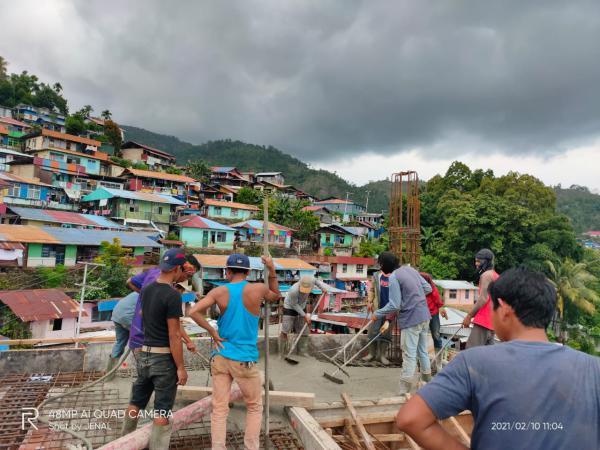 Pumping Concrete in Indonesia
