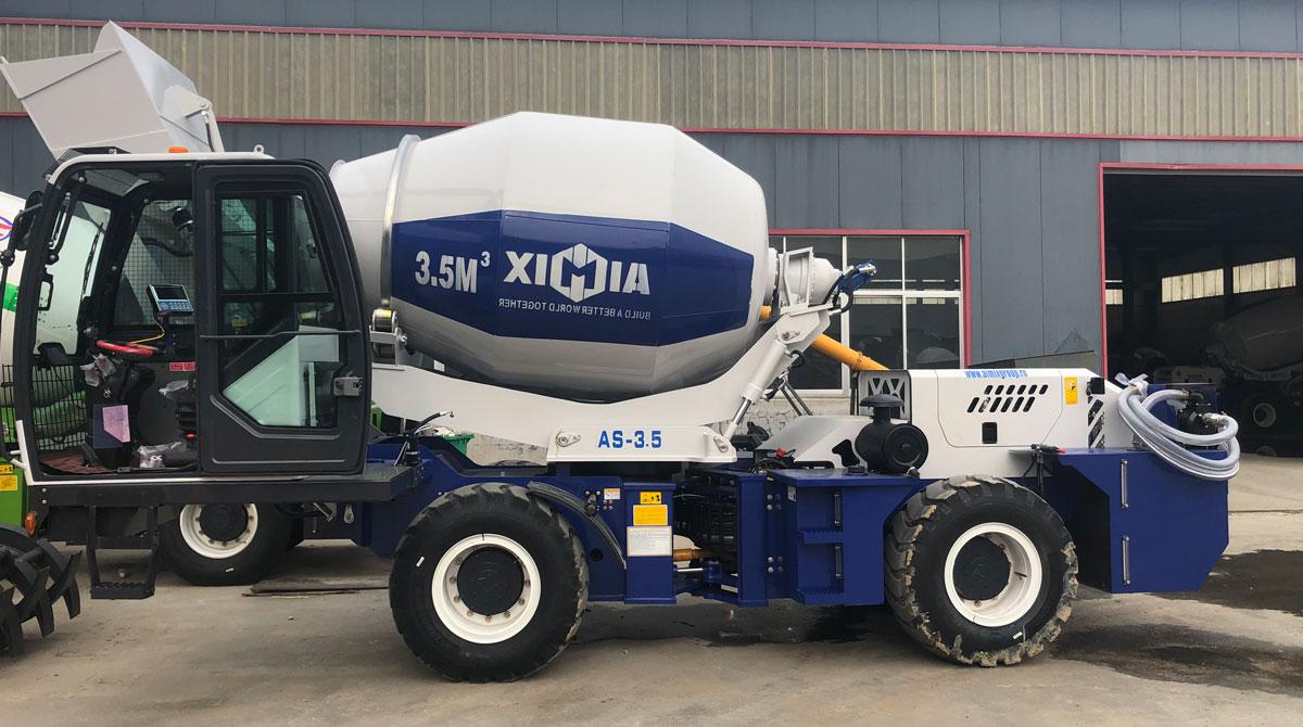 Eksport qilish Aimix AS-3.5 Rossiyaga yuklaydigan mikser