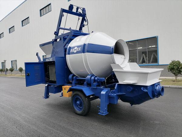 ABJZ30C Diesel Concrete Mixer and Pump