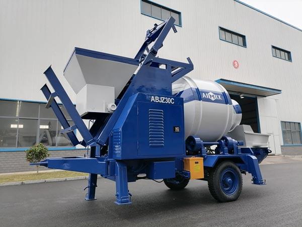 ABJZ30C Mobile Concrete Mixer Pump