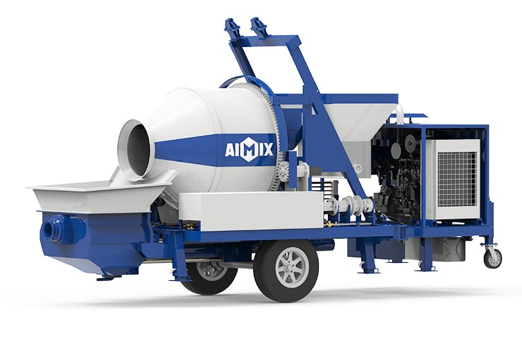 ABJZ40C Betonmischer mit Pumpe