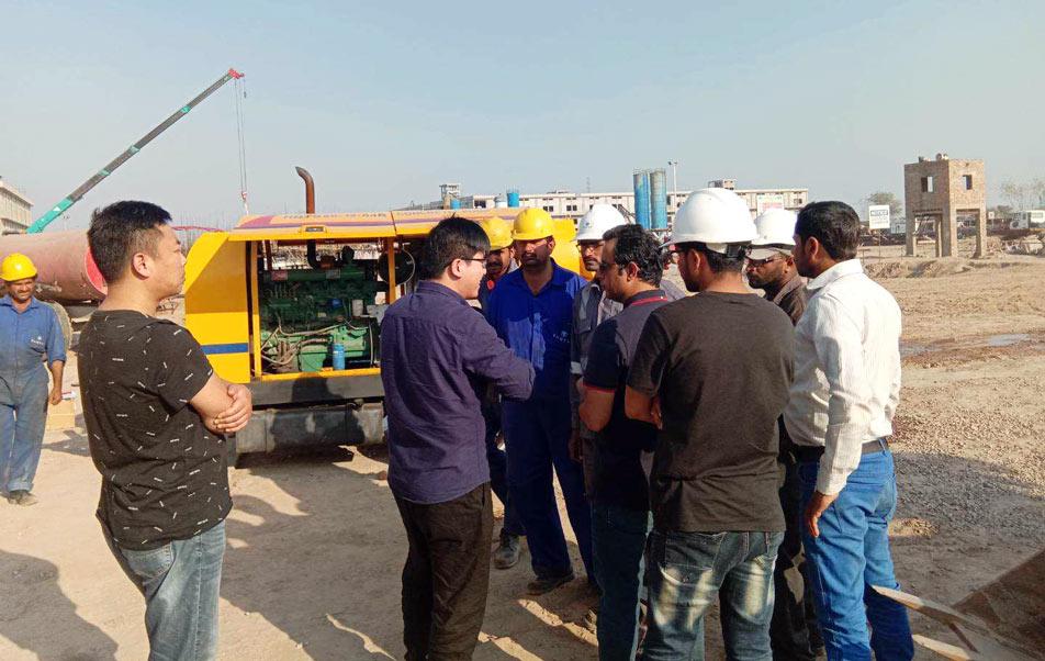 ABT40C Diesel Concrete Pump in Pakistan