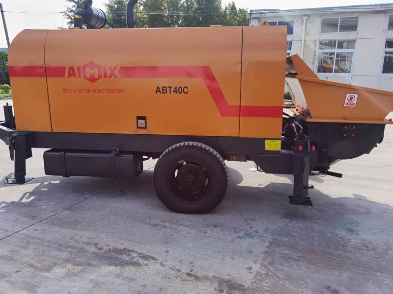 Pompa Beton Diesel ABT40C