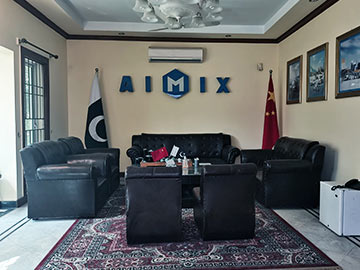 AIMIX Branch Office in Pakistan