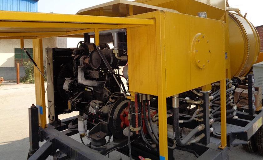 Concrete Pump Power System