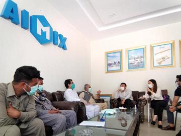 Customer Visiting in Pakistan Office