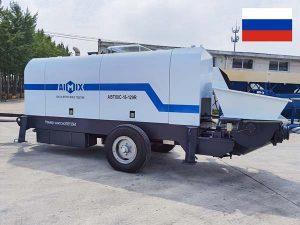 Yetkazib berish Aimix Rossiyaga ABT80C dizel beton nasosi