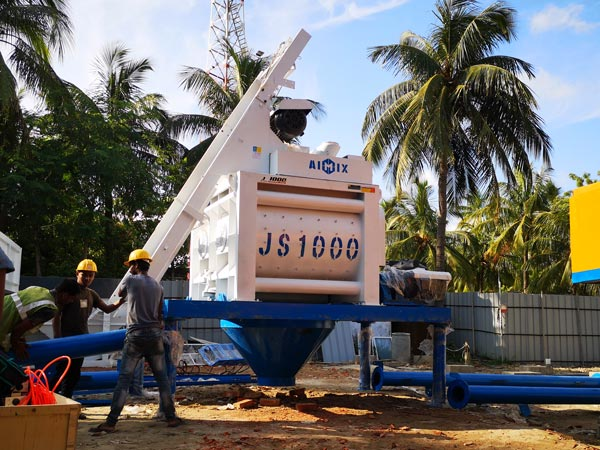 Mixer Beton Poros Ganda JS1000