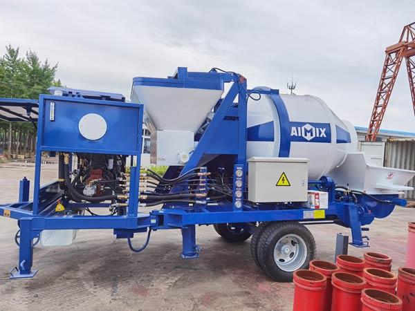 Jamaica ABJZ40C Diesel Mixer Pump
