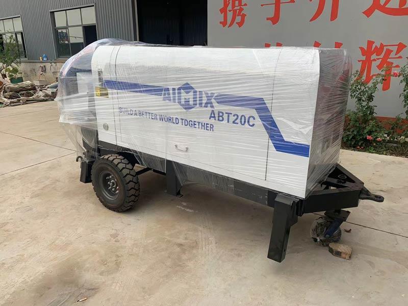 Packing ABT20C Concrete Pump