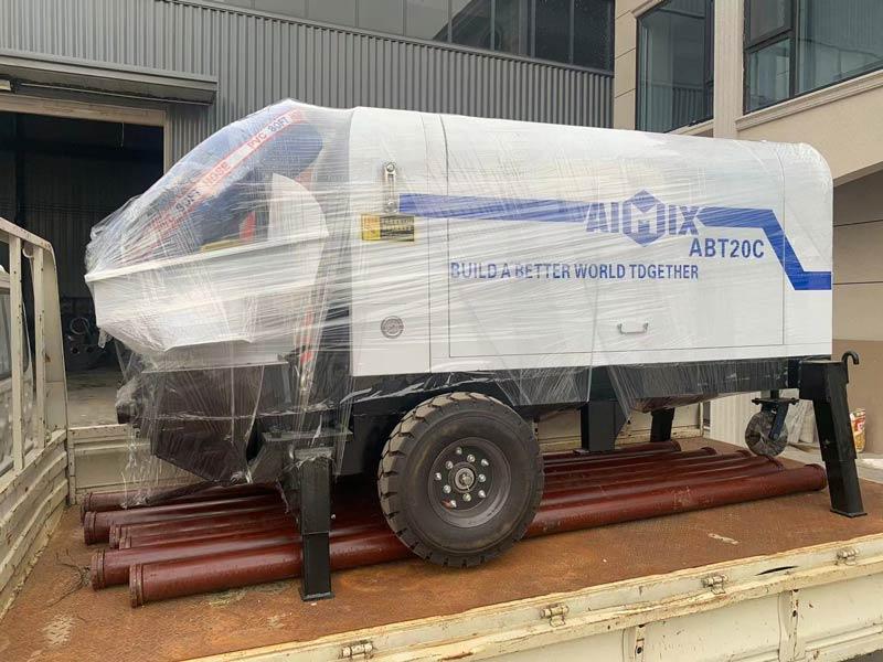 Packing Concrete Pump